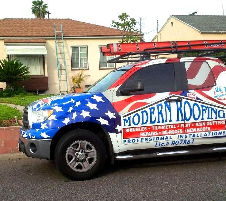 Roofing Santa Barbara Truck