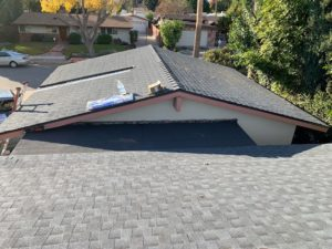 Shingle roof we installed in 2020