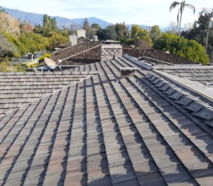 Imitation shake tiles installed in 2020 by Modern Roofing